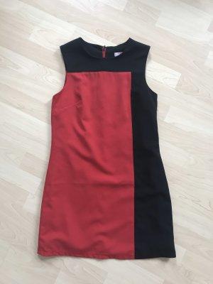 Asos Petite Sheath Dress black-red polyester