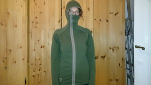 66°North Giacca lunga grigio-verde
