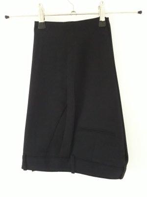 H&M Pantalon de costume noir-bleu foncé