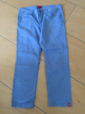 7/8 blaue helle Jeans edc