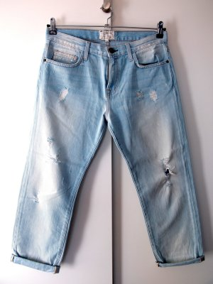 Current/elliott Boyfriend Jeans azure cotton