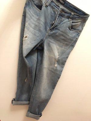 Arizona Boyfriend jeans azuur-korenblauw