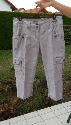 Street One Pantalone cargo grigio chiaro
