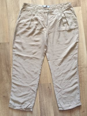 Hallhuber Donna Pantalone chino color carne-beige