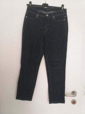 Cambio 7/8-jeans donkerblauw
