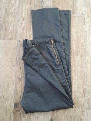 7/8 graue Hose ohne Taschen / Sommerhose, SALE / Gr. 38