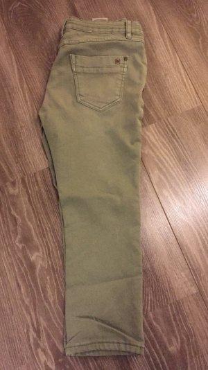 Pantalón tobillero caqui