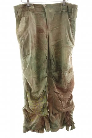 7/8 Length Trousers abstract pattern street-fashion look