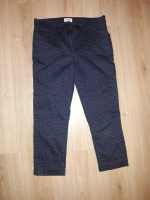 BAF Pantalón blanco-azul oscuro