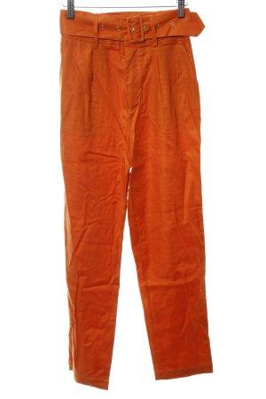 Pantalon 7/8 orange foncé élégant