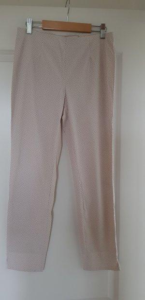 Seductive 7/8-broek wit-beige Polyamide