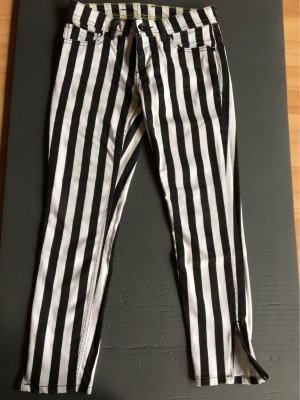 Adidas NEO 7/8-broek zwart-wit