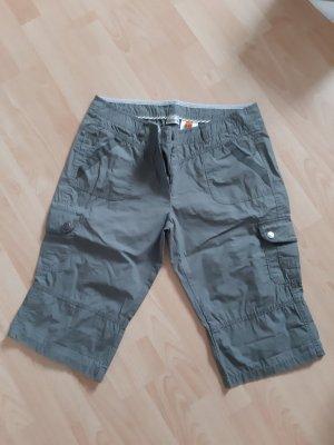 Street One 7/8 Length Trousers dark green-khaki