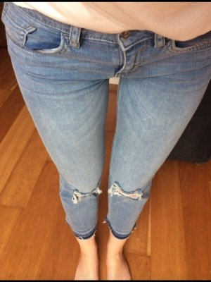 Tom Tailor Denim Jeans a 7/8 blu fiordaliso
