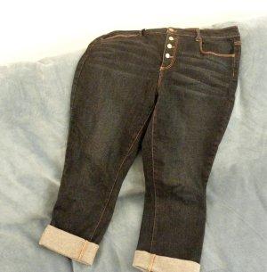 Just Fab 7/8 Length Jeans blue cotton