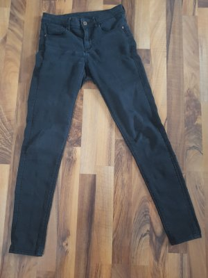 H&M Divided 7/8-jeans zwart-donkerblauw