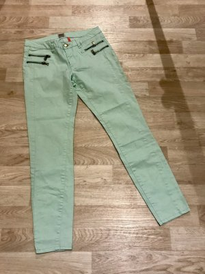 Only 7/8-jeans turkoois