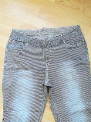 C&A Jeans a 7/8 bianco-blu
