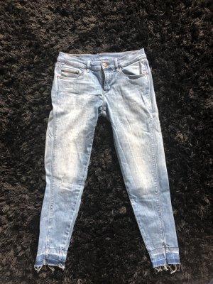 Calvin Klein Jeans Jeans a 7/8 azzurro-blu