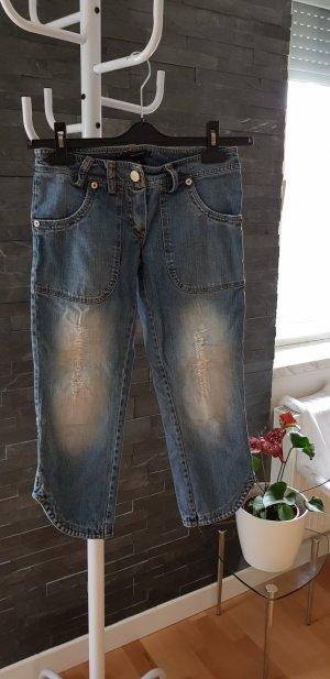 Denny Rose 3/4-jeans blauw
