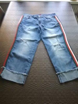 Buena Vista Pantalón tobillero azul claro