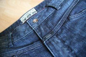 7/8 - Jeans in Dunkelblau