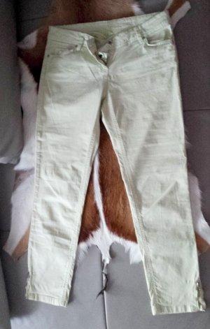 Promod Jeans a 7/8 giallo chiaro-giallo pallido Cotone
