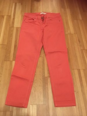7/8 Jeans in Koralle