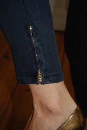 7/8 Jeans mit sexy Reißverschluss