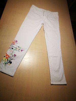 Belair 7/8 Length Jeans white