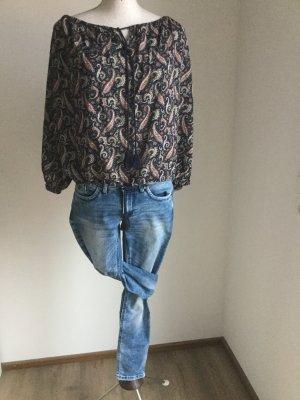 edc by Esprit Jeans a 7/8 blu fiordaliso Tessuto misto