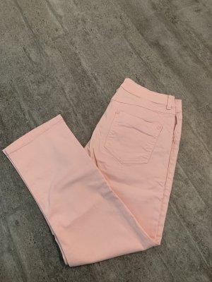 7/8-jeans lichtroze