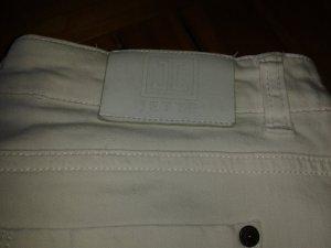 Jette Jeans a 7/8 bianco Tessuto misto
