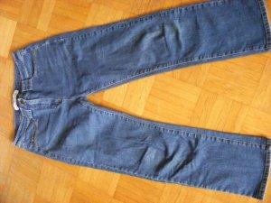 Jeans elasticizzati blu scuro Denim