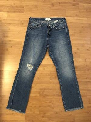 7/8 Jeans von Mango in blau