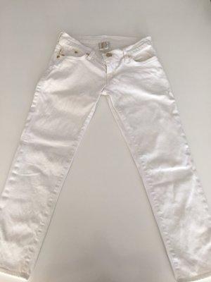 Victoria Beckham Pantalon 7/8 blanc