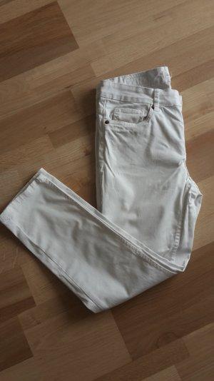 7/8 Jeans weiß Größe 38