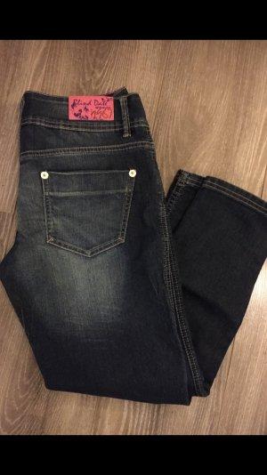 Blind Date Jeans a 7/8 blu scuro