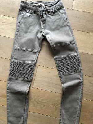 7/8 Length Jeans grey brown