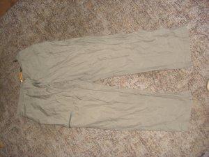 Pantalon 7/8 gris brun