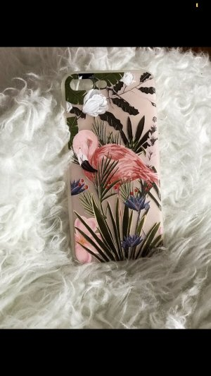 Mobile Phone Case pink-white