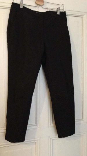H&M Pantalon 7/8 noir coton