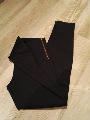 7/8 schwarz Hose ohne Taschen / Basic / SALE / Gr. 38 / NEU!