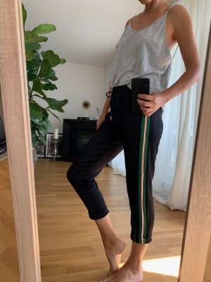 7/8 Schwarze elegante Jogginghose von Sandro Paris in Gr. 36