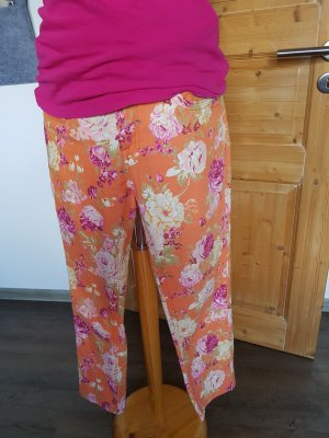 Blue Monkey 7/8 Length Trousers apricot
