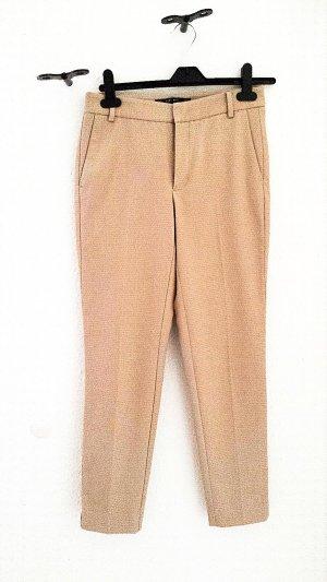 7/8 - Stoffhose von Zara in beige, Gr.34
