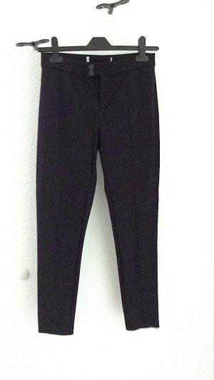 7/8 - Stretch Hose von Zara in schwarz, Gr. 34
