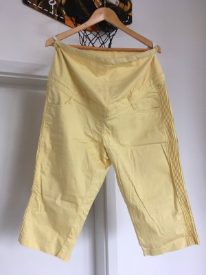 b.p.c. Bonprix Collection Pantalón tobillero amarillo pálido