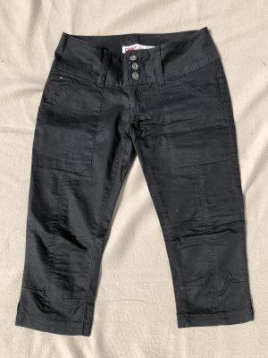 Only 7/8-jeans zwart Katoen