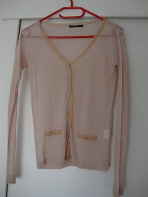7 For All Mankind Giacca in maglia rosa pallido Viscosa